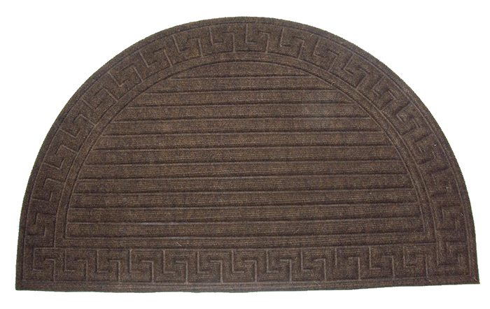 Chennille Bath Rugs In Coco Brown